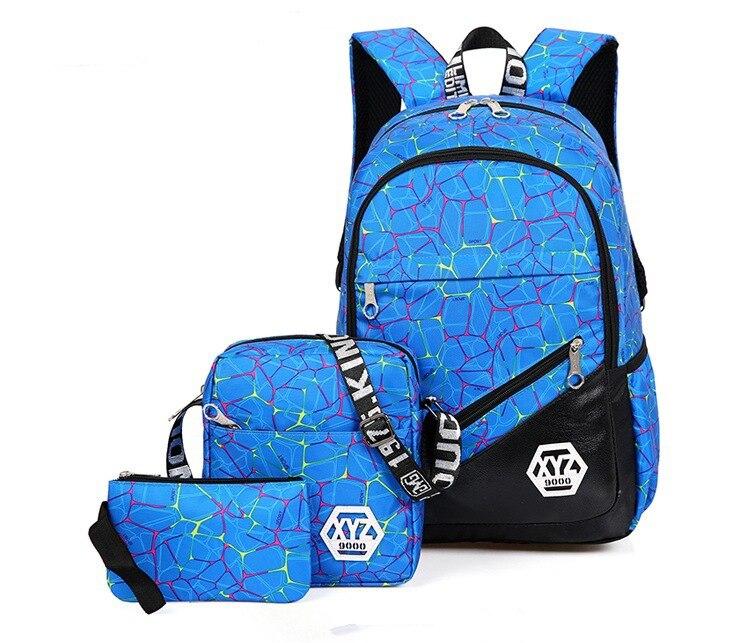 حقائب مدرسية عالية الجودة قماش 36