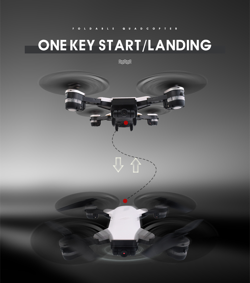 12.New 2.4Ghz 4ch foldable FPV rc drone with 2MP wide angle wifi camera