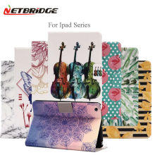 For Apple Ipad Pro 9.7 Case Tablet Pad Protective Cover Folding Folio Cartoon Anime Painting PU Leather Shell 9.7 Inch For Ipad