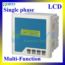 LCD Single phase Multifunctional Monitoring Meters multifunction meter digital Combined Meters with RS485(China)