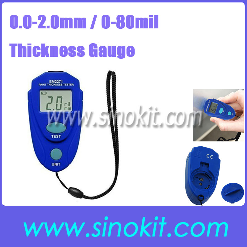Digital Thickness Gauge Car Painting Thickness Tester Paint Thickness Meter PT2100<br><br>Aliexpress