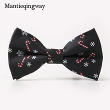 Mantieqingway Brand Bow Ties for Men Christmas Tree Bowties For Mens Wedding Cravat Fashion Casual Bowknot Bowties Men Gifts
