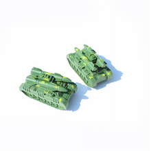 Military model World of Rocket Tanks Green without wheels Heavy Tank 1pcs/set military model Free shipping(China)
