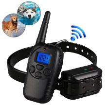 100% Waterproof Pet Dog Training Shock Collars With Remote 300M Best For Medium Large Small Dogs Swimming Training Collar