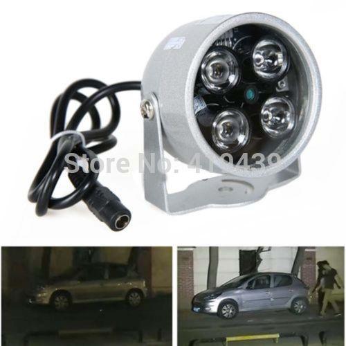 CCTV 4 LED Illuminator Light CCTV Security Camera IR Infrared Night Vision Lamp<br><br>Aliexpress