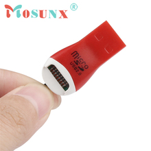 Ecosin2 Mosunx USB 2.0 Micro SD SDHC TF Flash Memory Card Reader Mini Adapter For Laptop 17Mar08
