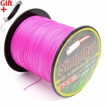 Simpleyi Lure AS Gift 100m 8 Stands Braided Fishing Line 10lb To 300lb Multifilament PE Fish Wire Rope Cord(China)