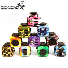Original Fidget Cube Camouflage toys relieve stress for adult 2017 New Fidget Cube mini stress cube toys set Fidget toy oyuncak(China)