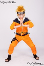 Naruto Jacket Naruto Cosplay Uzumaki Naruto Cosplay Orange Boys Naruto Cosplay Costume 2014(China)
