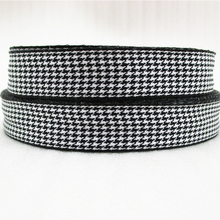 5Y45498  width:20mm scottish high quality printed polyester ribbon 5 yards, DIY handmade materials, wedding gift wrap