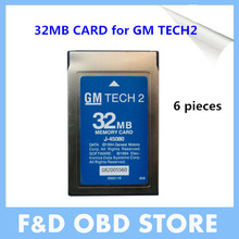 Top 2017 Lowest Price Super 32MB CARD FOR G M TECH2,Holden/Opel/G M /SAAB/ISUZU/Suzuki 32MB Memory G M Tech 2 Card Free Shipping