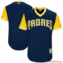 MLB Men's San Diego Padres Baseball Navy 2017 Players Weekend Authentic Team Jersey 06(China)