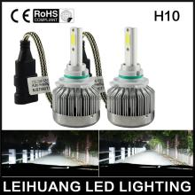 All-in-One  Automobiles Car LED H10 9145 9140  Headlight Kit Bulbs 6000K White 3000K Yellow High Power Cheap headlamp