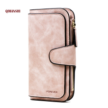 Wallet Brand Coin Purse PU Leather Women Wallet Purse Wallet Female Card Holder Long Lady Clutch purse Carteira Feminina(China)