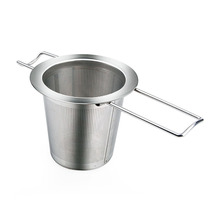 Reusable Stainless Steel Tea Strainer Infuser Filter Basket(China)