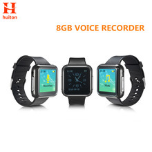 New 8GB Sport Watch Voice Recorder six recording modes support 28 languages and Password Protection mp3 WR-19(China)