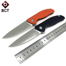 Bear F95 EVO Folding Pocket Knife D2 G10 Utility Combat Hunting Survival Knives Bearing Tactical Outdoor Rescue EDC Multi Tools(China)