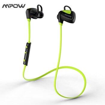 MBH24 Mpow Coquillage Sport Étanche Écouteurs Stéréo Bluetooth 4.1 USB De Charge In-Ear Sans Fil Casque Casques pour iPhone