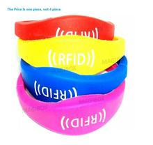 Color 125khz Rfid Waterproof Proximity ID Card EM card RFID wristbands bracelets and wrist band ID TK4100 silicone id wristband(China)