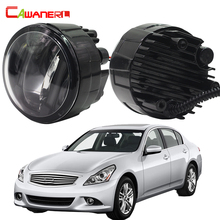 Cawanerl 2 Pieces Car Styling LED Fog Light Daytime Running Lamp DRL 12V For Infiniti G37 Sport 3.7L V6 - Gas 2011 2012 2013
