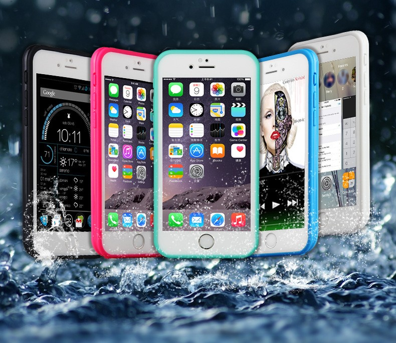 2017 New Waterproof Case life Water Proof Cases For IphoneIphone5/5S/6/6S/6P/7 Shockproof Anti-dirt Cover Case+Summer Travel Set(China (Mainland))
