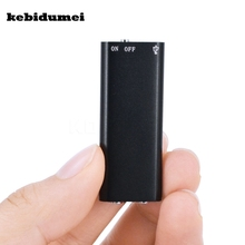 kebidumei 8G Mini Digital Audio Voice Recorder Dictaphone Stereo MP3 Music Player 3 in 1 8GB Memory Storage USB Flash Disk Drive(China)
