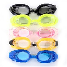 Professional Elastic Adult Kids Anti-fog Waterproof UV Protection Adjustable Swimming Goggles Glasses 2017 Brand New 456