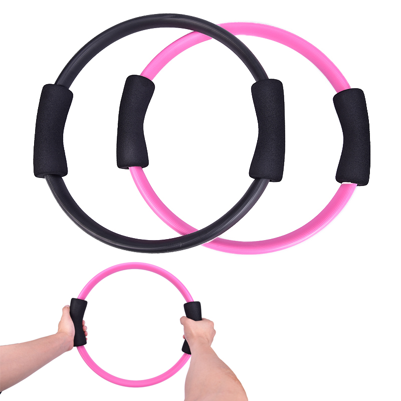 Yoga Ring Pilates Ring Magic Circle Dual Grip Sporting Goods Exercise Fitness Body Massage Loop Lose Weight Equipment