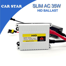 Free shipping AC 9-16V 35W Slim Xenon HID Replacement Electronic Digital Conversion Ballast For H1 H4 H7 H11 9005 9006 Xenon kit