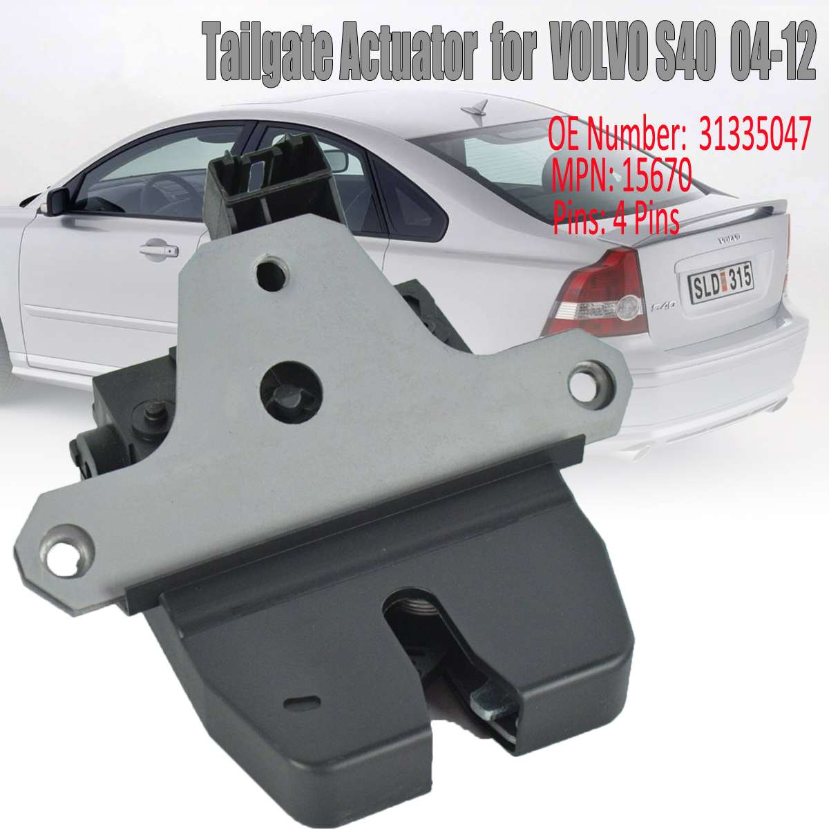 Hatchback Renault Laguna II 01-07 Tailgate Bootlid Rubber Seal
