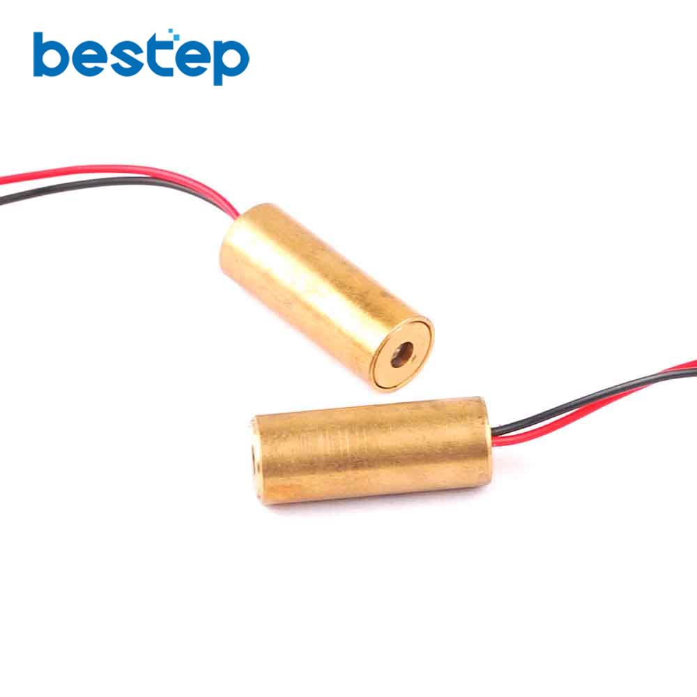 1pcs Laser Diodes 5mw 650 Nm Diodo Red Dot Diod Circuit 3v 5v Has A Pair Of Emitting And Receiver 9mm Cross Point Head Tube Diode Semiconductor