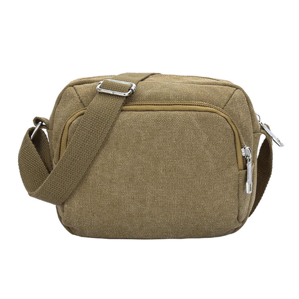 027c2358eda High Quality Men Canvas Bags Casual Simple Travel Men s Crossbody Bags Army Vintage  Messenger Bags Adjustable
