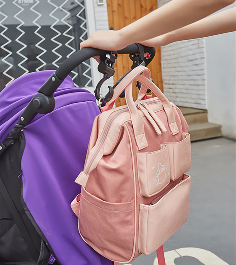 Baby Items Organizer Family Travel Bag Backpack Infant Stroller Bag For Kids Nappie for Baby Diaper for Mother Wet Shoulder Bags09