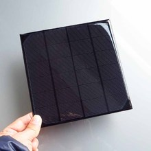 1pc x 6V 4.5W 5W 720mA Mini monocrystalline polycrystalline solar cell battery Panel charger 4.5Watt