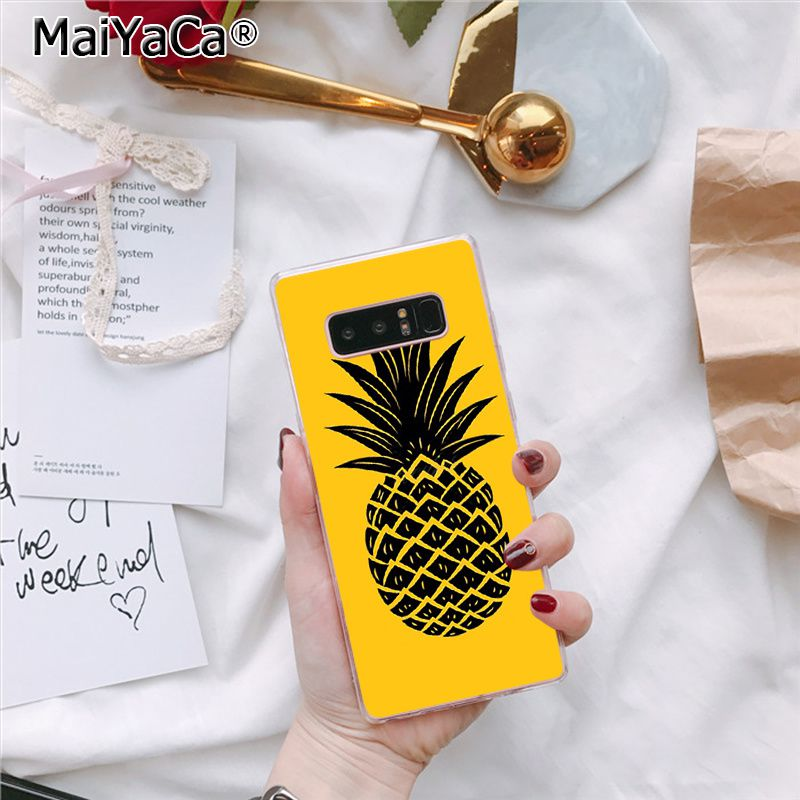 Summer Pineapple Fruit Food Marble