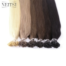 Neitsi Indian Straight Human Fusion Hair I Tip Stick Keratin Remy Hair Extensions 28 inches 1.0 g/s 50g 6 Colors Available(China)