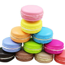 4cm Kawaii Soft Dessert Macaron Squishy Slow Rising Cute Cell Phone Strap Charms Cream Cake Bread Scented Kids Toys Gift Random