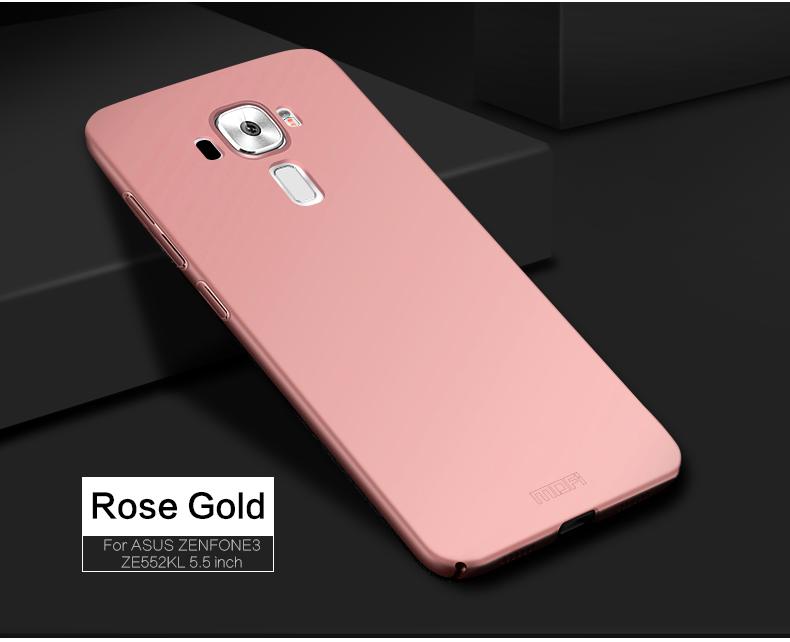 "Asus Zenfone 3 ZE552KL Case Hard Back Luxury Full Cover PC Plastic Mofi Original Phone Case For Asus Zenfone 3 ZE552KL 5.5"" 11"