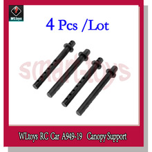 4Pcs A949 Car Shell Column A949-19 Canopy Support for Wltoys A949 A959 A969 A979 1/18 RC Car Spare Parts