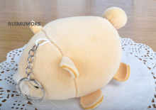 Cute Adorable 12*7CM Baby Bear Plush TOY , Stuffed Animal Bear Key Ring Plush DOLL ;(China)