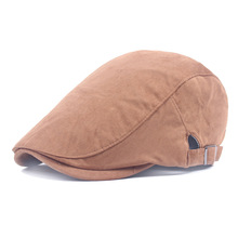 HSS Cotton Men Women Simple wild berets hat Summer holiday leisure hat(China)