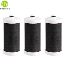 3 pieces Filtro de Grifo Water filter Household Kitchen Health cocoanut Activated Carbon forTap Faucet Water Filter Purifier