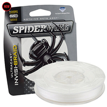 SpiderWire Brand ULTRACAST Series 114M 125YD Translucent Invisibility Braided Fishing Line 8 Strand High Strength Thin Sensitive(China)
