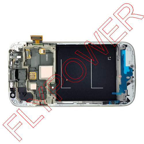 For Samsung Galaxy S4 I9506 lcd screen with white touch screen digitizer +Frame assembly by free shipping; 100% Warranty<br><br>Aliexpress