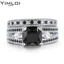 New Arrive Polish Sparking AAA Grade Tiny CZ Anillos Mujer Bague Jewelry Paved HOPE Four Letter Band Rings RB617(China)