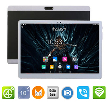 Unlocked 2017 10 inch Android 6.0 4G LTE Tablets Octa Core RAM 4GB ROM 64GB Dual SIM Cards 1920*1200 IPS HD 10.1 inch Tablet PCs(China)