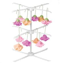 1pc White 3 Tiers Sugar Paste Flower Drying Rack Fondant Cake Cupcake Icing Sugar craft Dry Stand Baking Tools L45(China)