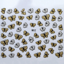 5Sheet Nail Art Animal Pattern For Stamping 3D Nail Art Water Stickers Charms Shinning Stickers Nail Art Decal French Manicure