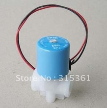 1/4'' Water Dispenser Purifier Solenoid Valve PP 24VDC Drinking Water Solenoid Valve(China)