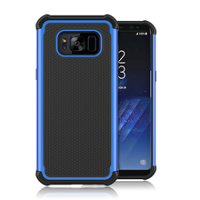 10PCS Romiky Football Armor Case for Samsung Galaxy S8 Plus Hard Tough PC + TPU Cover for Samsung S8 Plus Phone Shell Outdoor
